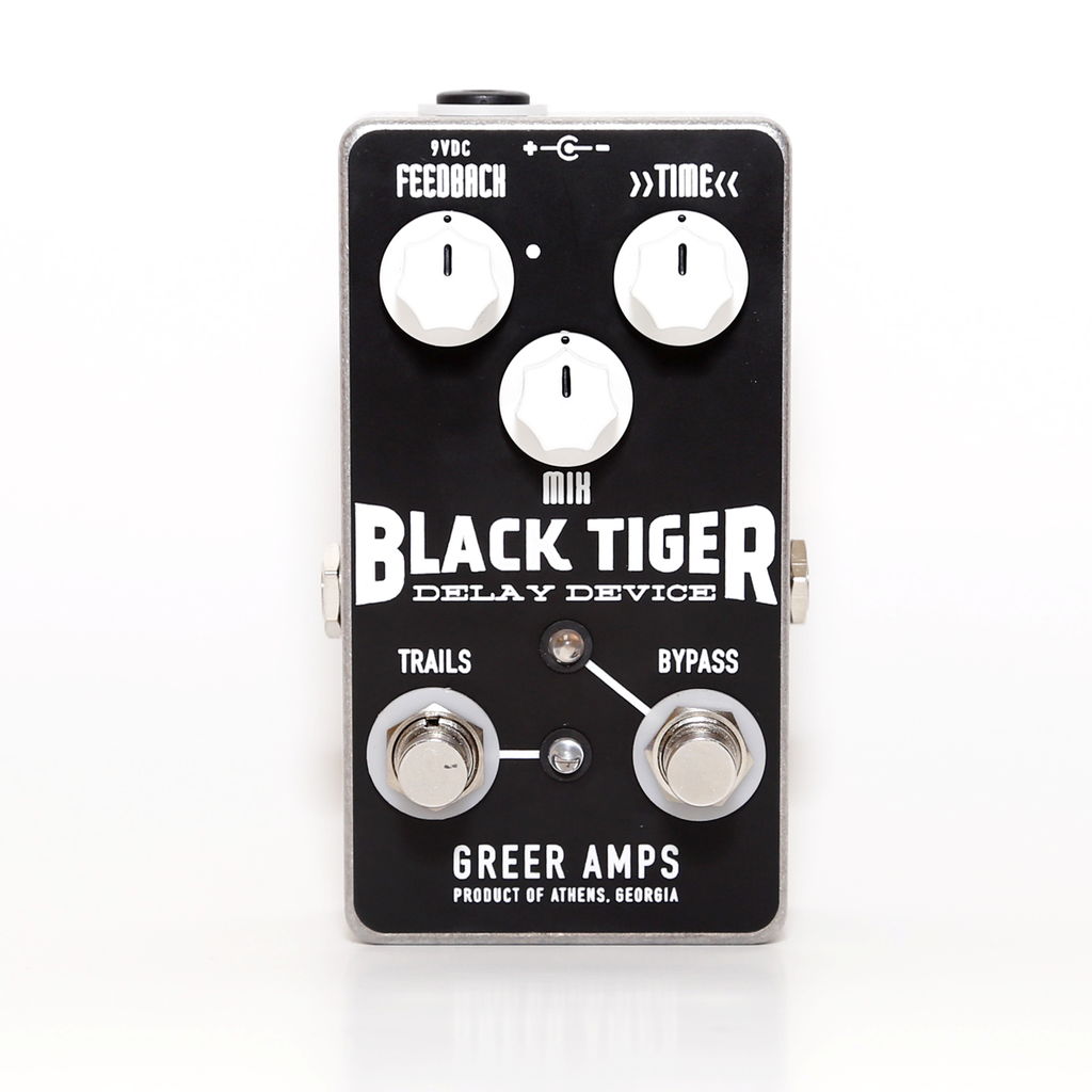 Greer Amps Black Tiger Delay