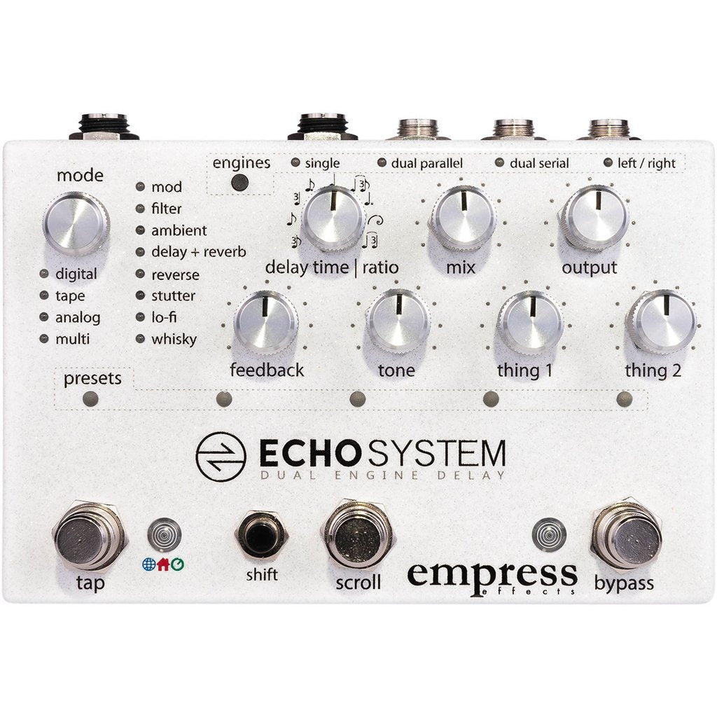 Empress Echosystem Dual Engine Delay