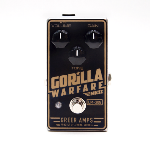 Greer Amps Gorilla Warfare
