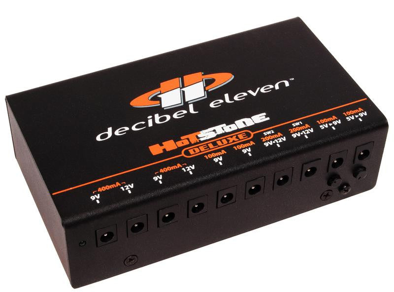 Decibel Eleven Hot Stone Deluxe Pedal Power  (1600mA 10 outputs)
