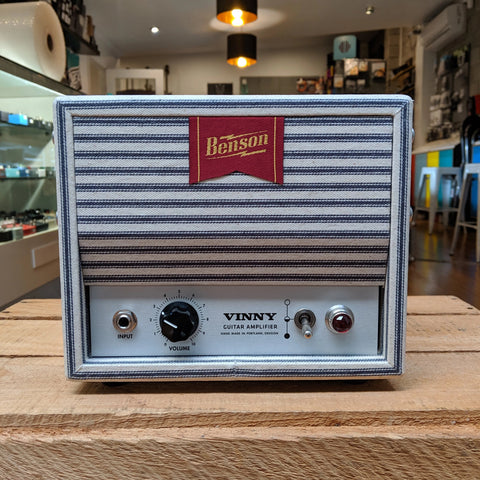Benson Amps Vinnie 1watt Head Striped Canvas