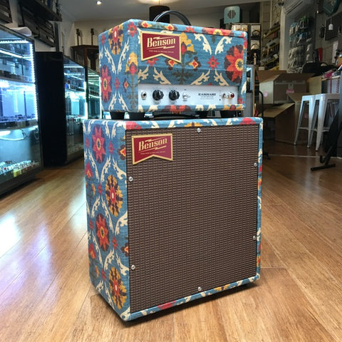 Benson Amps Monarch Striped Finish 15 watt head and 1x12 cabinet