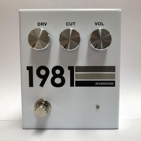 1981 Inventions DRV No.3 GRAYSCALE