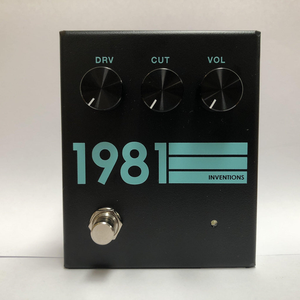 1981 Inventions DRV No.3 Black & Teal