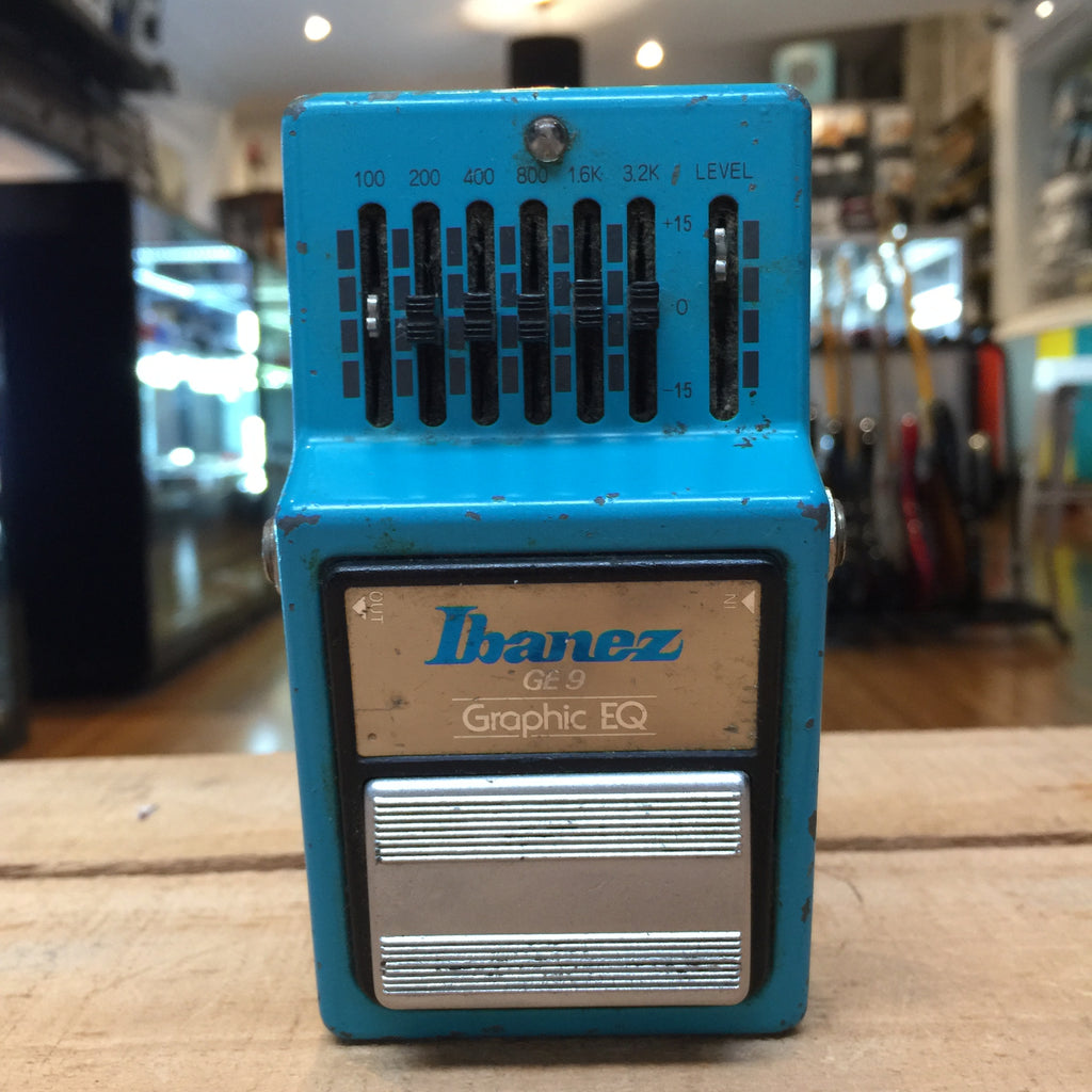 VINTAGE Ibanez GE 9 Graphic EQ