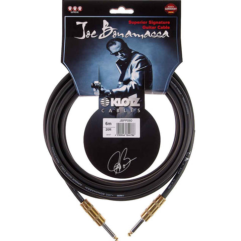 Klotz Cables Joe Bonamassa Series 6M Cable