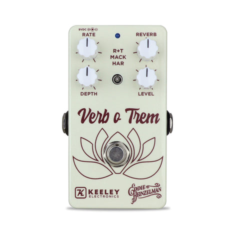 Keeley Verb o Trem Reverb and Tremolo