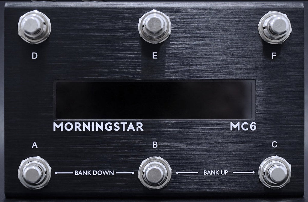 Morningstar Engineering MC6 Programmable MIDI Controller MKII