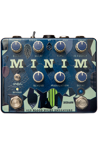 Old Blood Noise Endeavors Minim Reverse Delay and Reverb