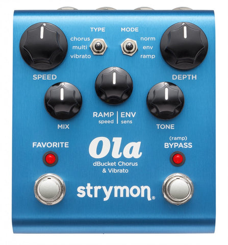 Strymon Ola Chorus and Vibrato