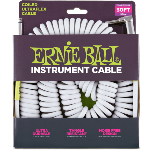 Ernie Ball Instrument Coiled Cables