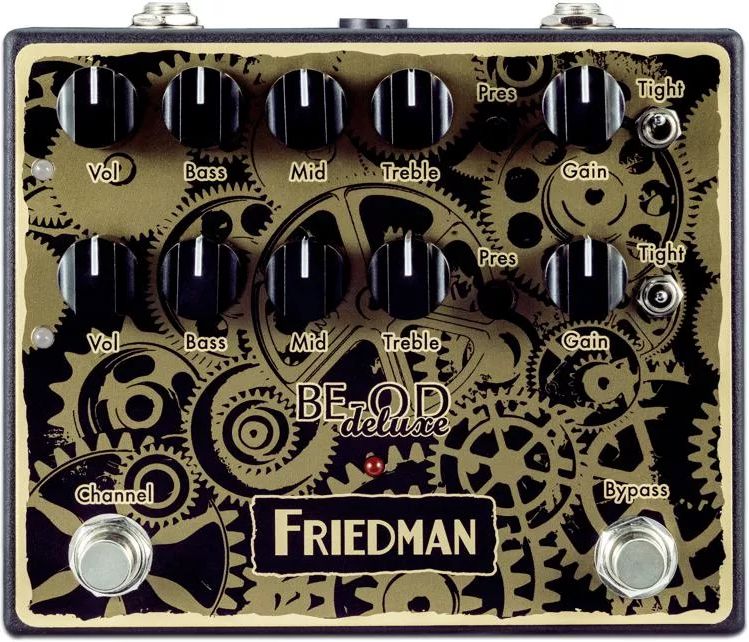 Friedman BE-OD Deluxe Overdrive Limited 'Clockwork' Finish