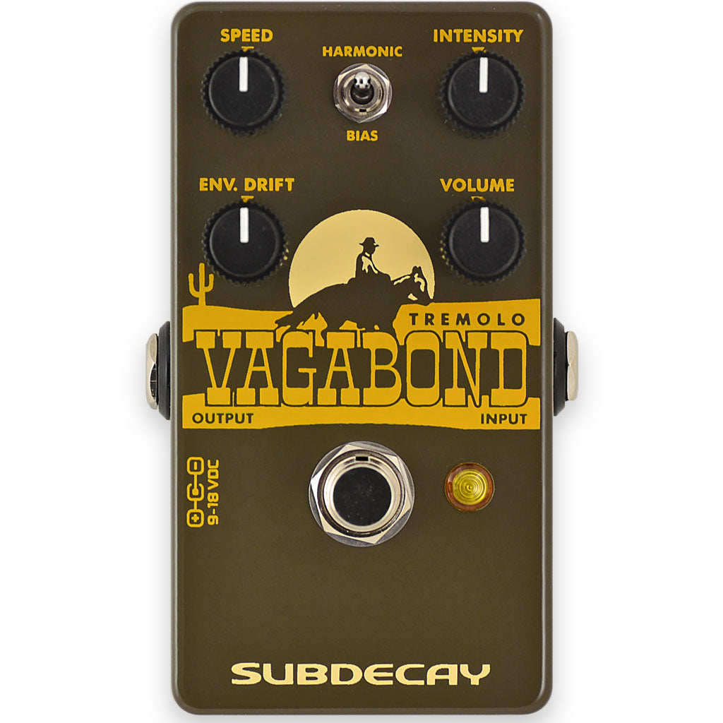 Subdecay Vagabond Harmonic and Bias Tremolo