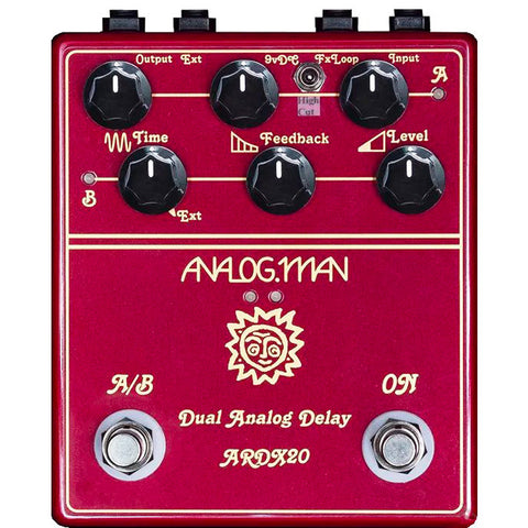 AnalogMan Dual Delay ARDX20