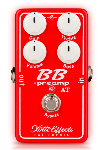 XOTIC EFFECTS BB PREAMP ANDY TIMMONS EDITION