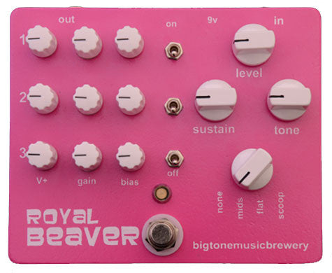 Big Tone Music Brewery Royal Beaver