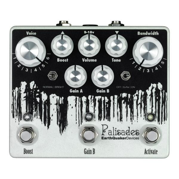 Earthquaker Devices Palisades Mega Ultimate Overdrive Classic