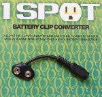 1 Spot Battery Clip Coverter