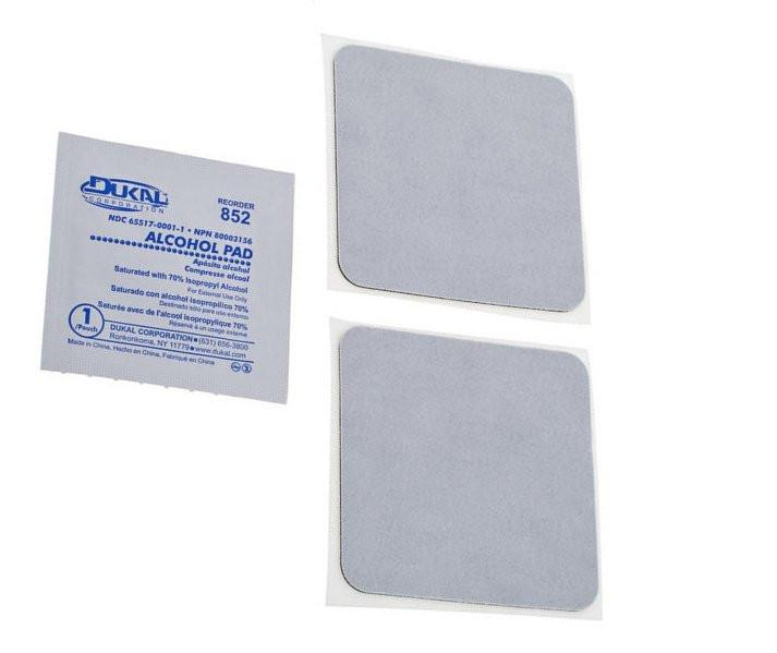 Temple Audio Replacement Adhesive Pads (2 Pack)
