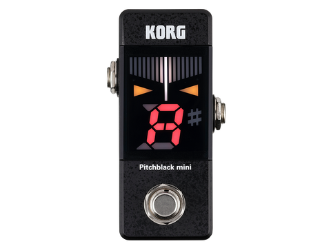 KORG Pitch Black Mini Tuner - Black