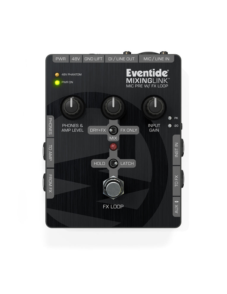 Eventide Mixing Link Mic Pre with FX Loop