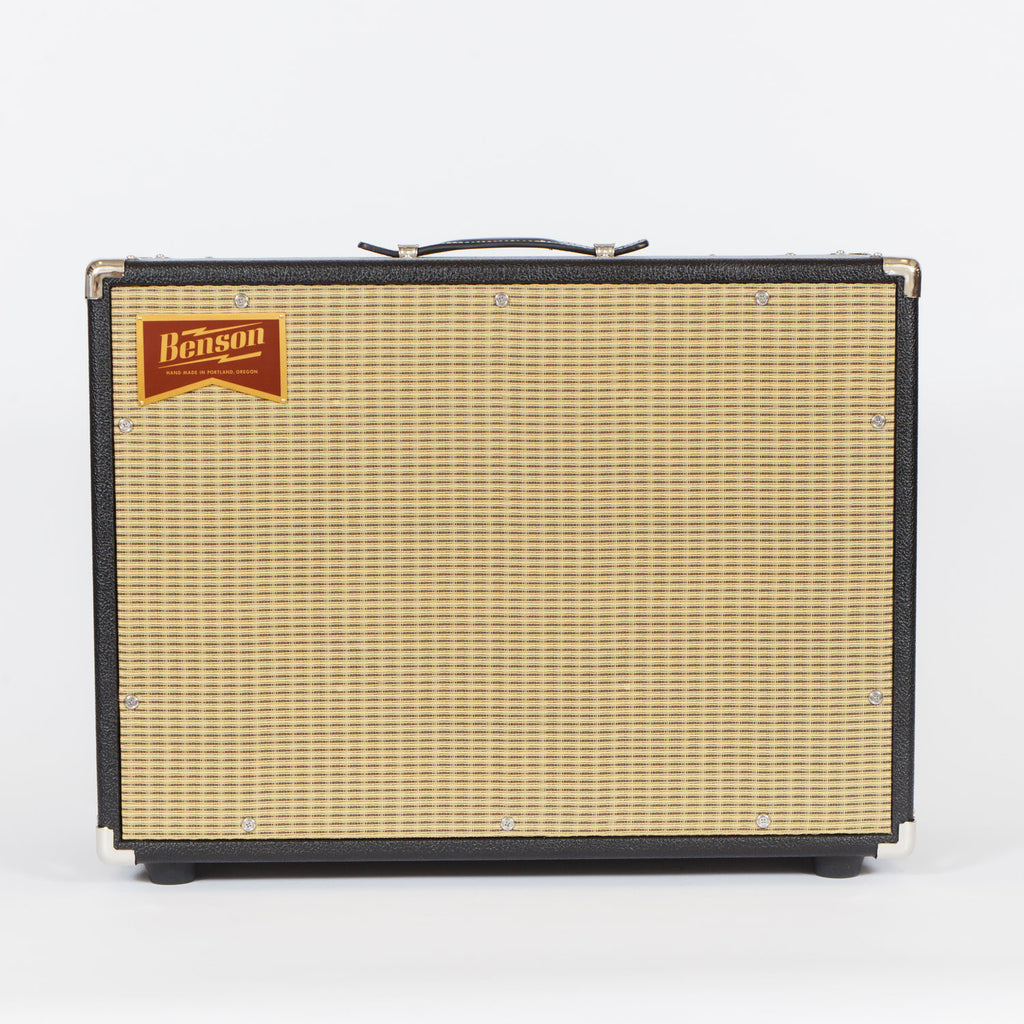Benson Amps Monarch Reverb 1x12 Combo (Black Tolex with Wheat Grill)