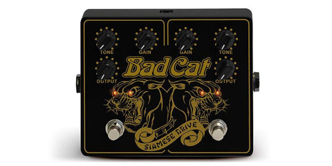 Bad Cat Siamese Drive Pedal