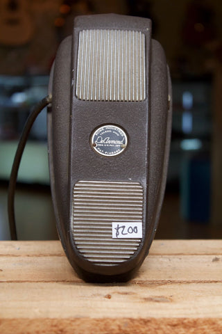 Vintage DE ARMOND 1950's Volume Pedal - hard wired cable