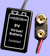 The Gigrig Virtual Battery VB-BC (battery clip style)