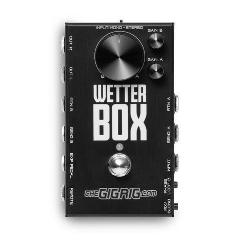 Mission Engineering Gigrig WBX-1 Wetterbox Expression Pedal