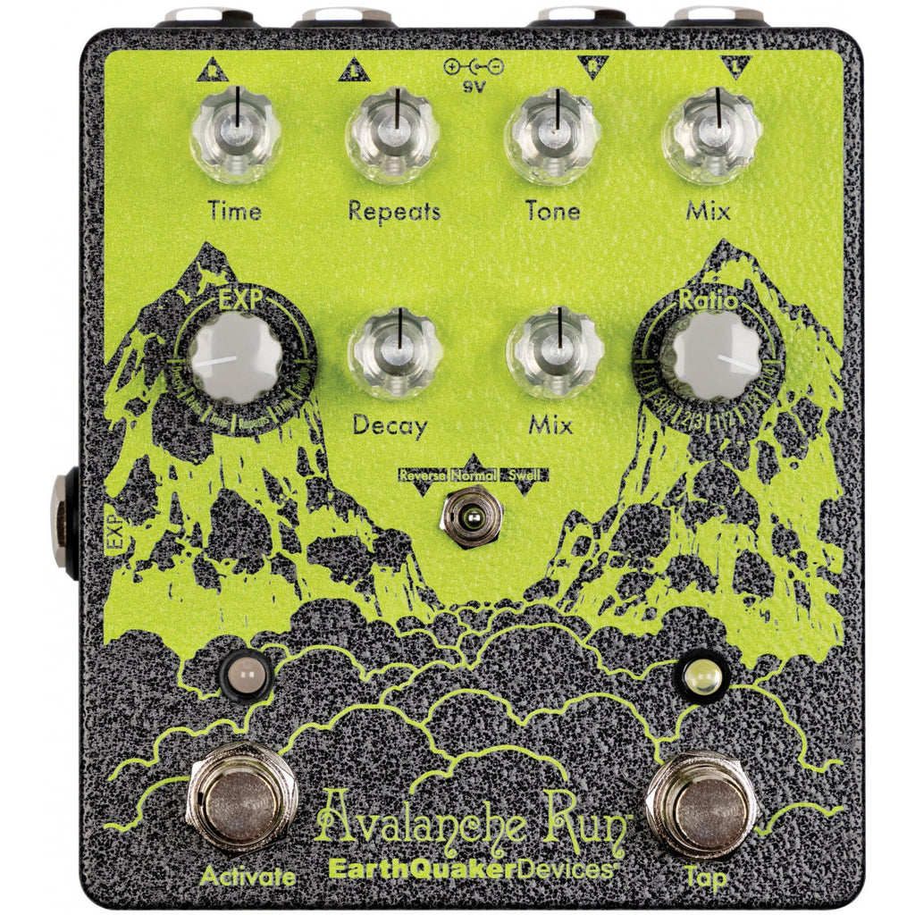 Earthquaker Devices Avalanche Run V2 Limited Edition Green