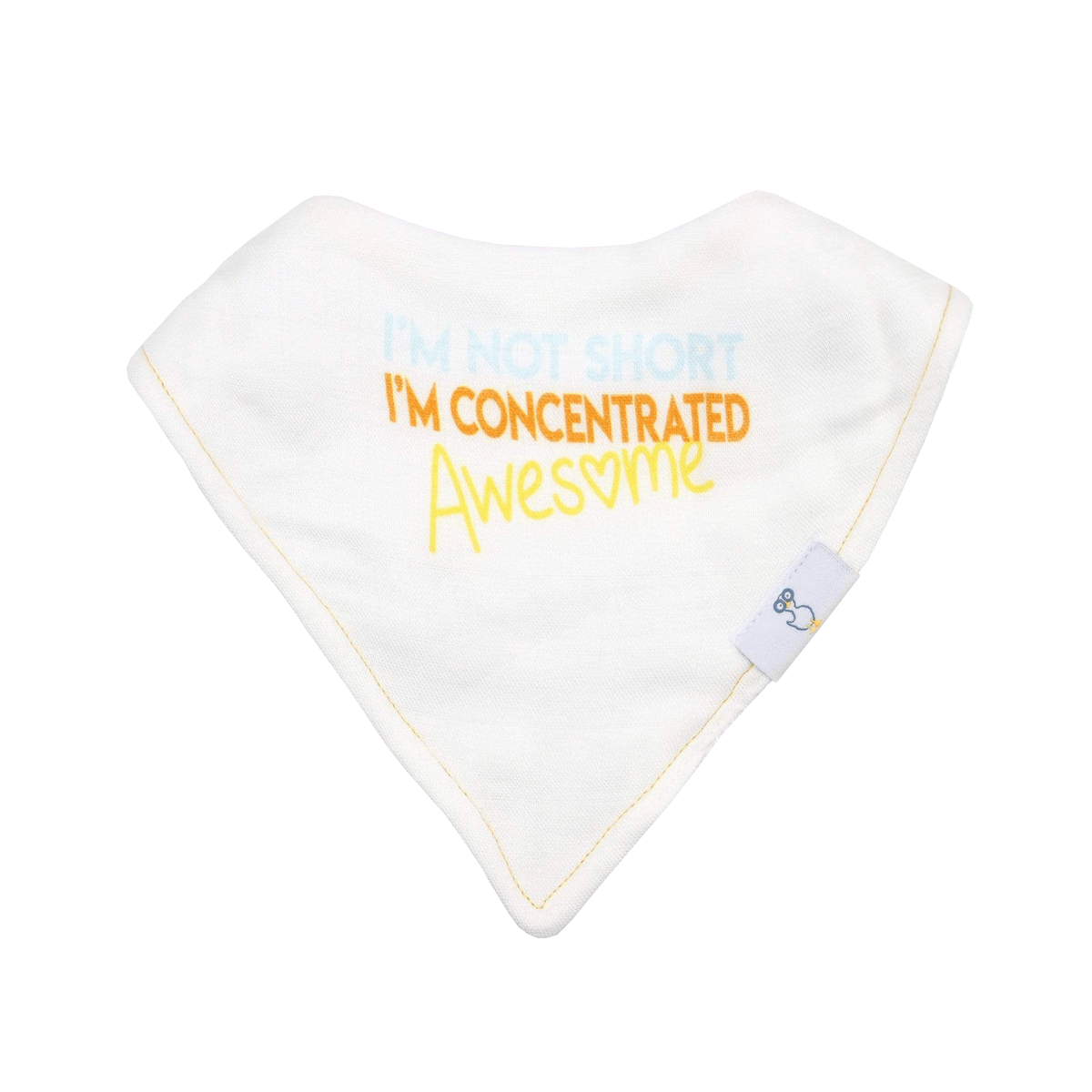 2 PK Muslin & Terry Cloth Bib Set Awesome/Diamonds - GooseWaddle