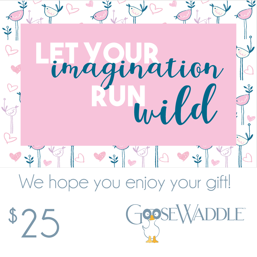 Imagination Gift Card - Goosewaddle