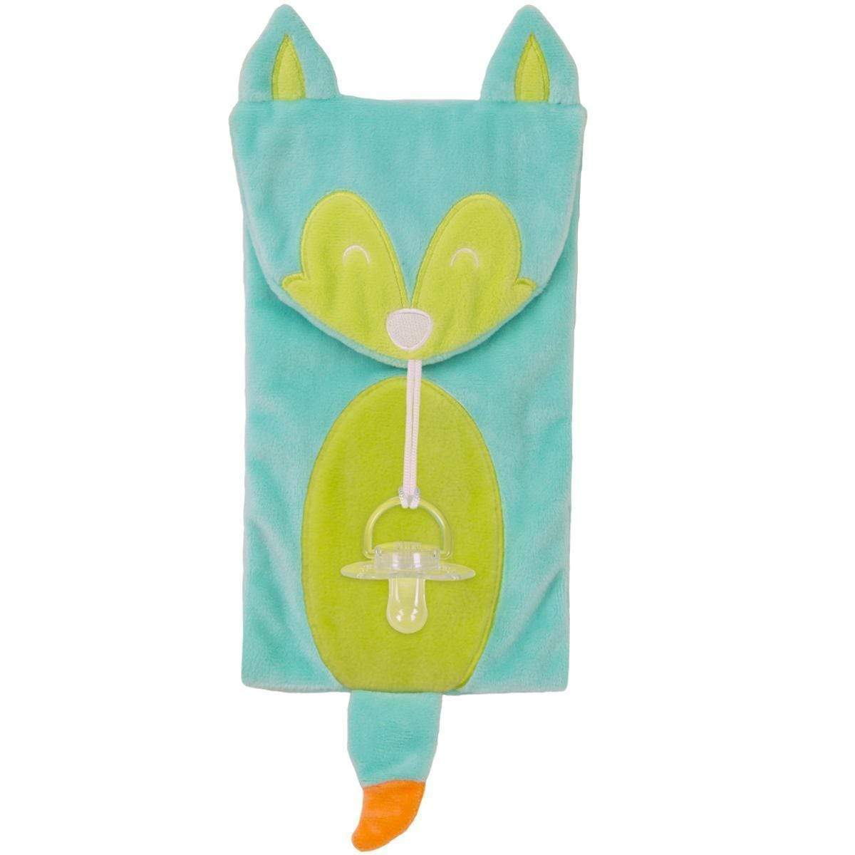 Soothe Mees Fox Pacifier Holder - Goosewaddle