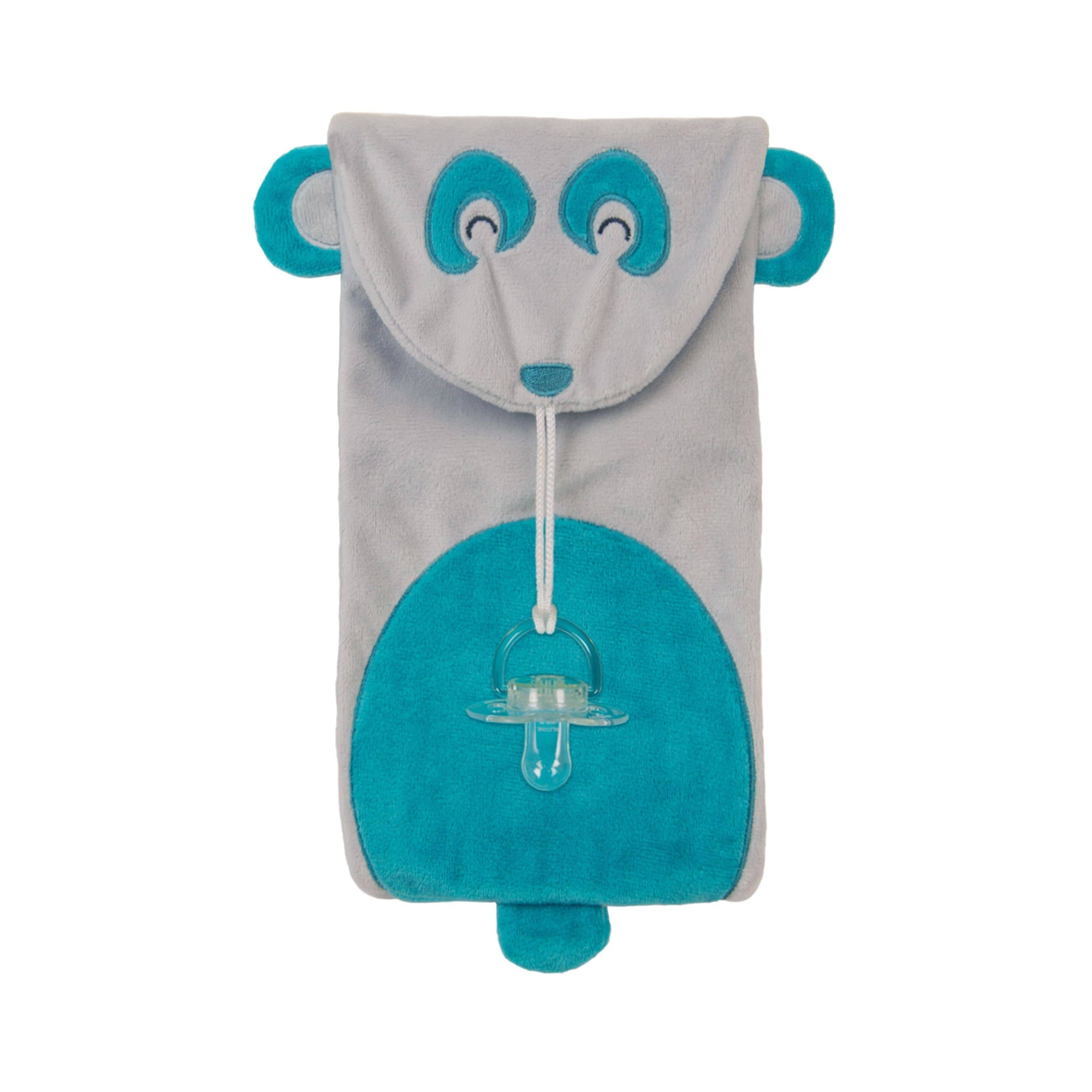 Soothe Mees Panda Pacifier Holder - Goosewaddle