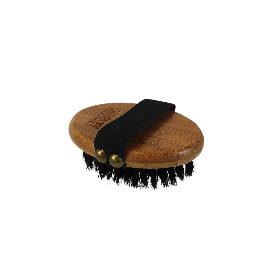Bamboo Groom Palm Brush - TRADE