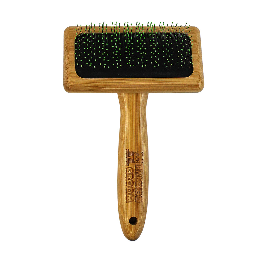 Bamboo Groom Soft Slicker Brush