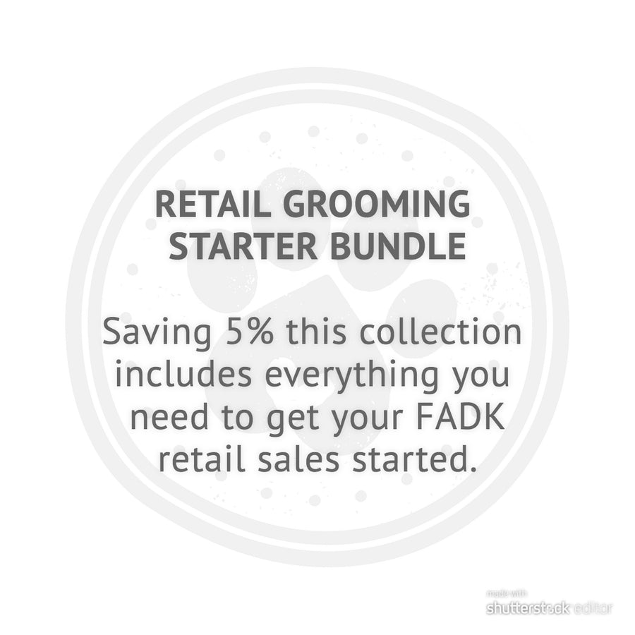 RETAIL GROOMING STARTER BUNDLE - TRADE