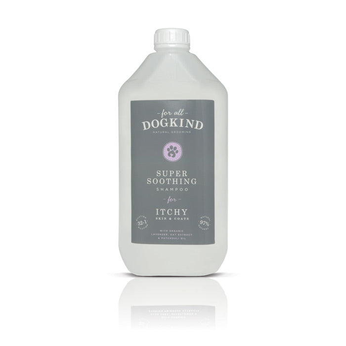 SUPER SOOTHING SHAMPOO FOR ITCHY SKIN & COATS 250ml & 5ltr - TRADE