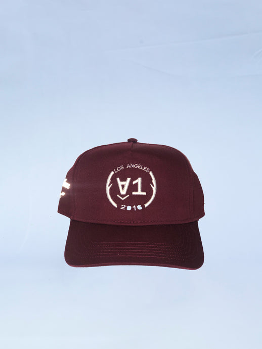 Burgundy 3m No Place Like Home SnapBack