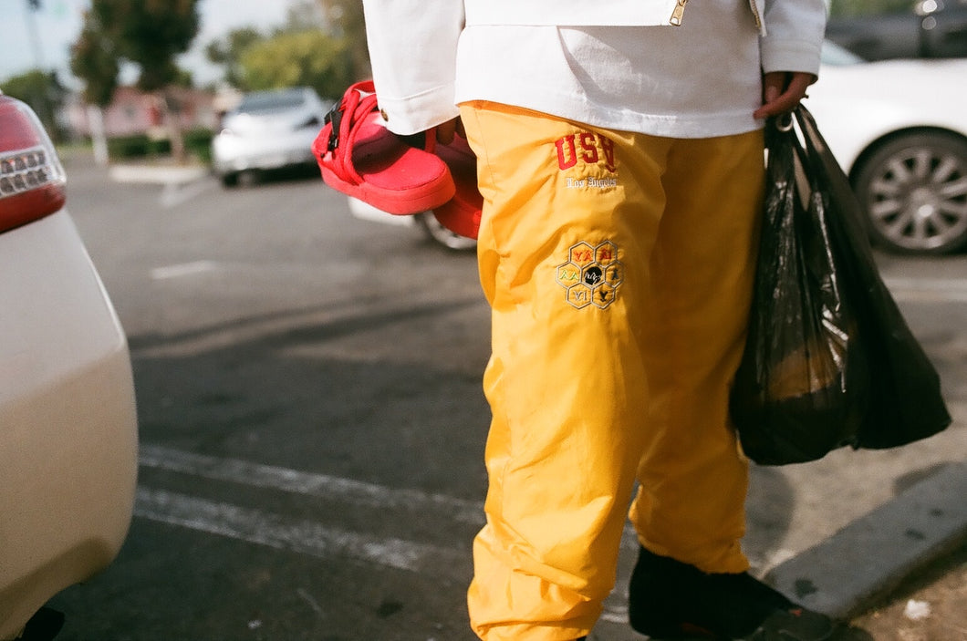 Gold Âthletic Track Pant