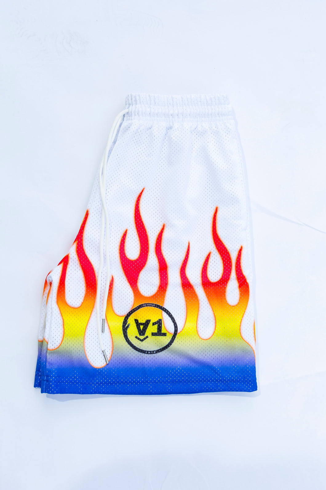 White Flame Shorts