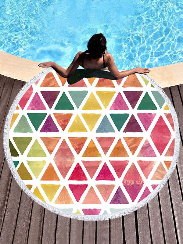Super Fine Geometric Pattern Beach Mats