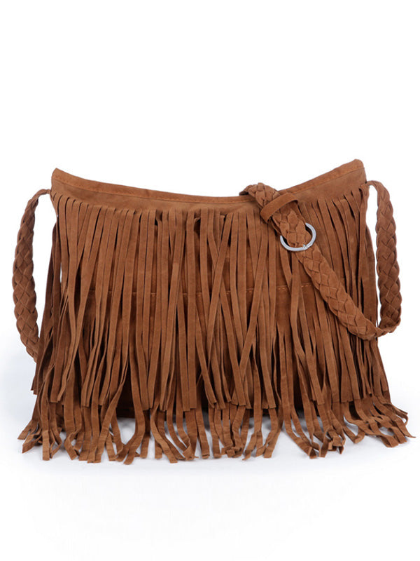 Frosted Tassel Bag