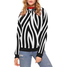 Load image into Gallery viewer, Custom High Neck Pullover Hoodies for Women