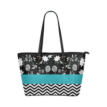 Load image into Gallery viewer, Custom Designed Leather Tote Bag/Small