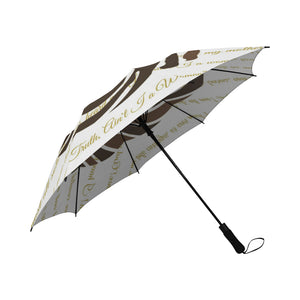 All Woman All Time Sojourner Truth Semi-Automatic Foldable Umbrella (Model U05)