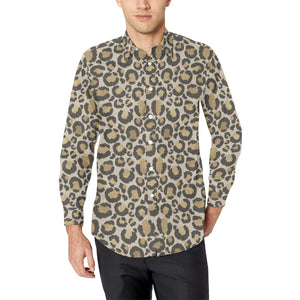 Men's Animal Print Casual Dress Shirts