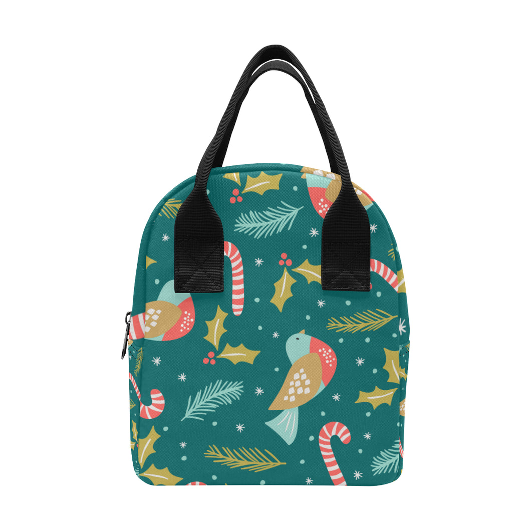 Christmas Insulated Zipper Lunch Bags