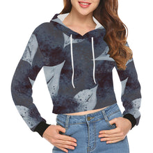 Load image into Gallery viewer, Custom Designed Crop Hoodies for Women